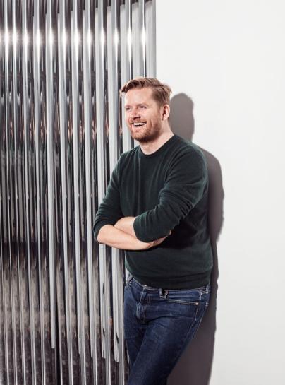David Thulstrup Designs Symmetrical Space For Georg Jensen: Font Bold Lounge Chair